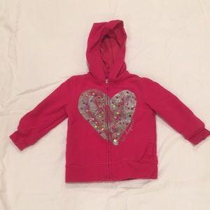 ⭐️ Oshkosh girls hooded sweatshirt